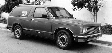 start with a chevy s-10 blazer or s10 pickup and end up with a street rod